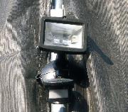 防犯ライトの写真